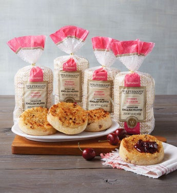 Cherry Blossom Super-Thick English Muffins - 4 Packages