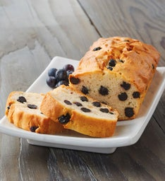 Blueberry Vanilla Loaf Cake