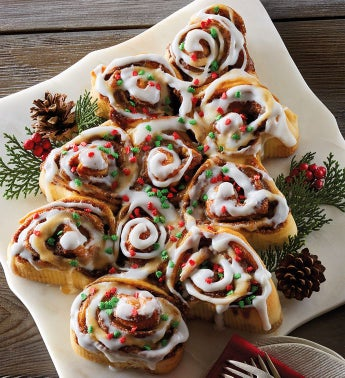 Cinnamon Roll Christmas Tree