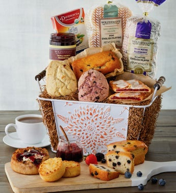 Cheerful Mornings Gift Basket