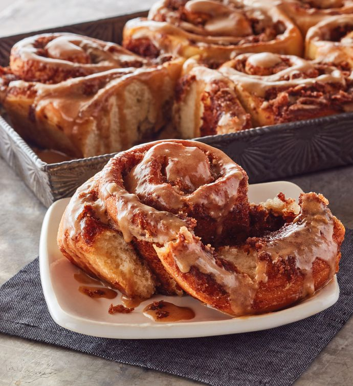 Maple-Glazed Sweet Rolls
