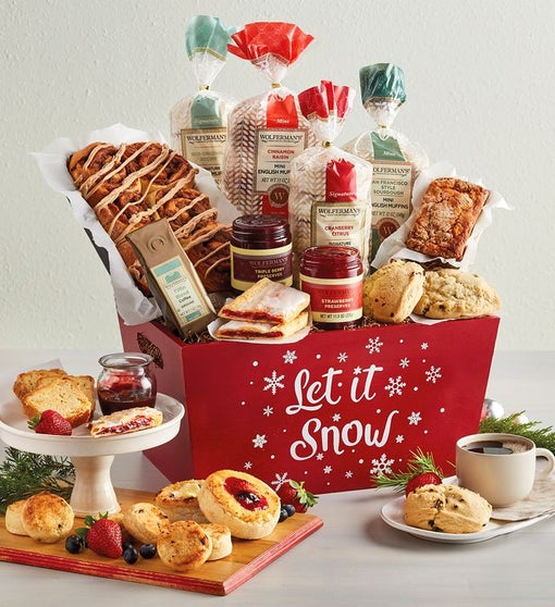 """Let it Snow"" Gift Crate"