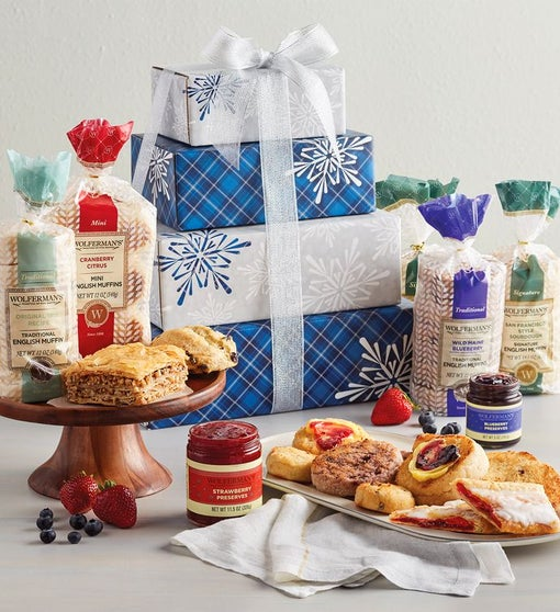Grand Winter Weather Gift Tower