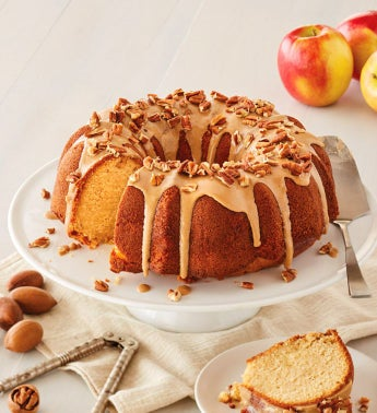 Apple Pecan Bundt Cake