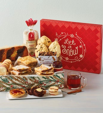 34Let it Snow34 Bakery Box