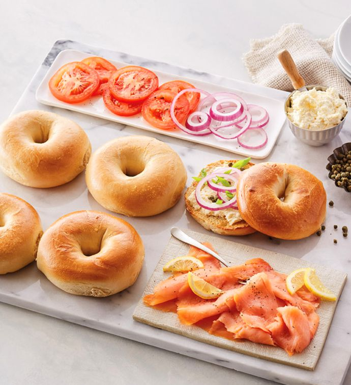 Original Bagels, Lox, and Cream Cheese