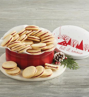Holiday Cranberry Galette Tin