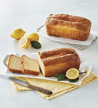 Gluten-Free Lemon Pound Cake Duo
