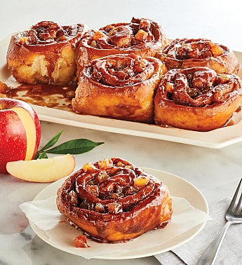 Caramel Apple Sticky Buns