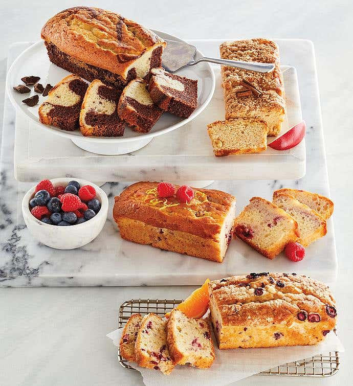 Mix & Match Loaf Cakes - 4 Packages