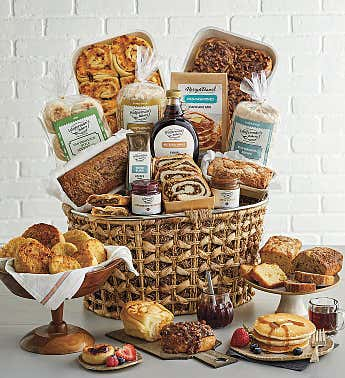 Delicious Mornings Gift Basket