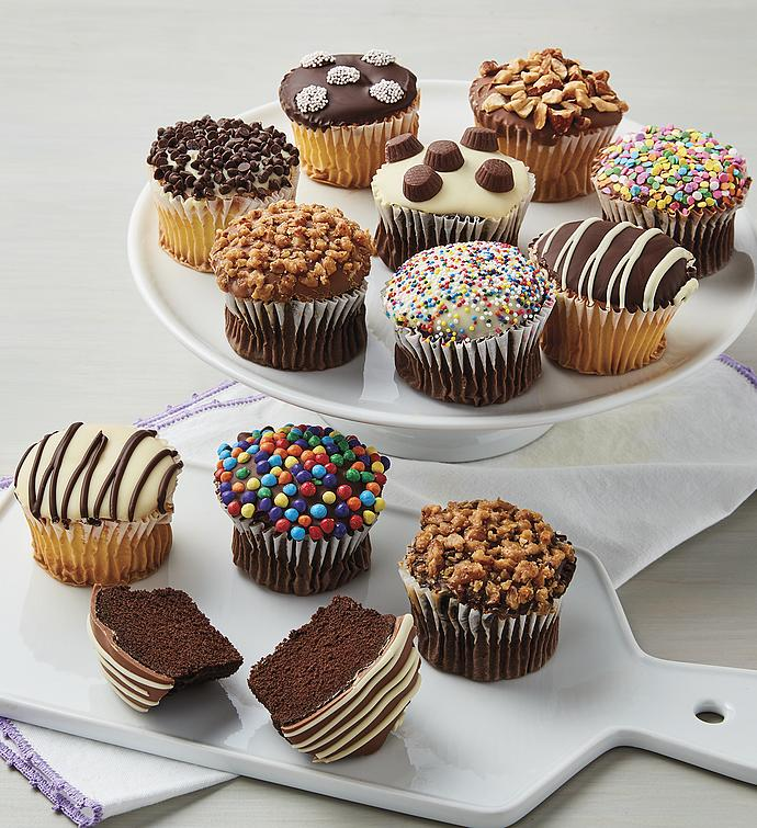 Chocolate-Dipped Cupcakes
