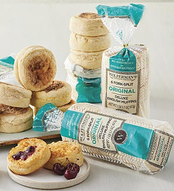 1910 Original Recipe Super-Thick English Muffins - 4 Packages