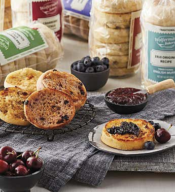 Mix & Match Traditional English Muffins - 6 Packages