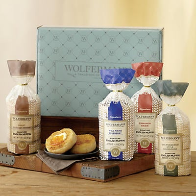 Create-Your-Own Signature English Muffins Gift Box - Four Packages