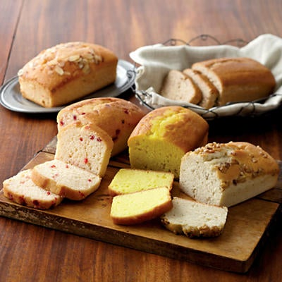 Create-Your-Own Country Tea Breads - Four Packages