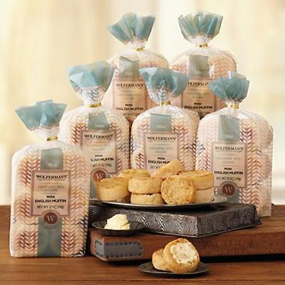 1910 Original Recipe Mini English Muffins Six Packages