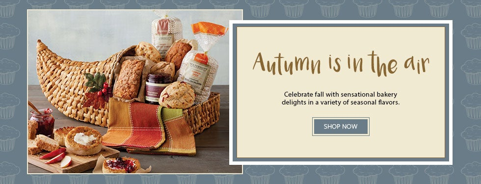 Autumn is in the air. Celebrate fall with sensational bakery delights in a variety of seasonal flavors. SHOP NOW