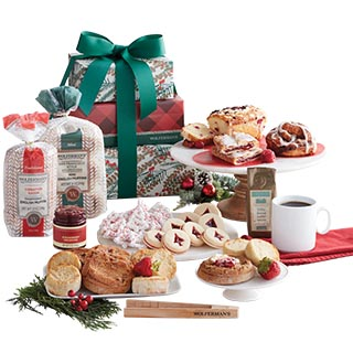 Deluxe Christmas Gift Basket